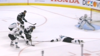 Trevor Lewis Used A Filthy Toe Drag To Score An Incredible Shorthanded Goal