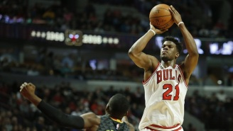 Jimmy Butler Doesn't Plan On Leaving The Bulls Anytime Soon