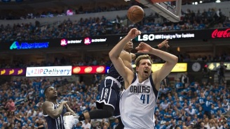 Why Dirk Nowitzki Was Sorta Happy Russell Westbrook Blocked Him So Badly