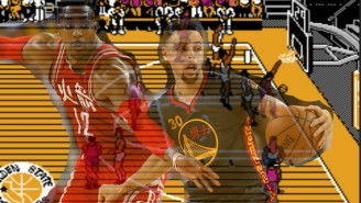 The Rockets Will Shock The Warriors If 'Tecmo NBA Basketball' Is To Be Believed