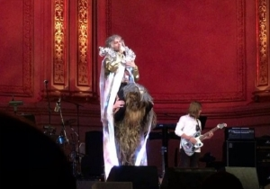 A Ton Of Artists, Including Wayne Coyne Riding Chewbacca, Paid Tribute To David Bowie In NYC