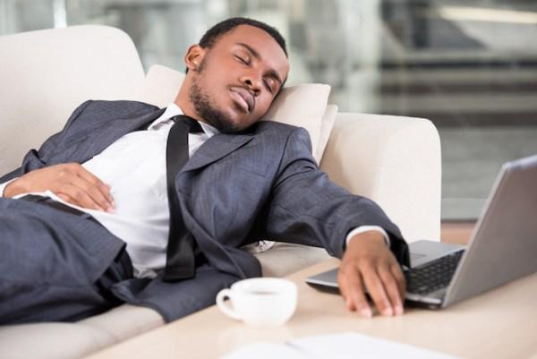 workplace nap sleeping