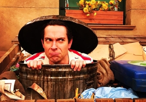 Zachary Levi's photos of his return to 'Sesame Street' are too cute to handle