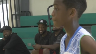 This New Highlight Mix Shows Dwyane Wade's Son Isn't Listening To 'Uncle Kobe'