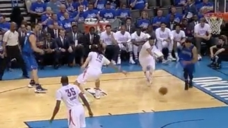 This Backdoor Pass from Zaza Pachulia To A Dunking Justin Anderson Is Beautiful