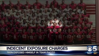 This HS Football Player Learned A Harsh Lesson After Exposing Himself In A Yearbook Photo