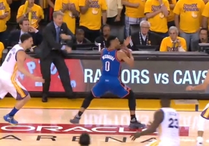 Russell Westbrook Got Away With A Travel In A Pivotal Moment Of Game 1
