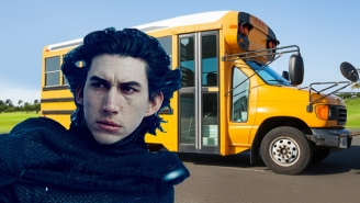 Adam Driver Says Acting In 'Star Wars' And Playing A Philosophical Bus Driver Are Pretty Much The Same
