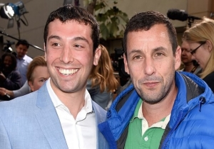 Adam Sandler Invited His Doppelgänger To The Premiere Of His Netflix Movie