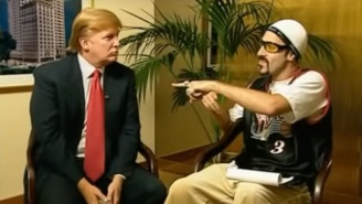 Sacha Baron Cohen Has A Very Different Recollection Of Ali G's Donald Trump Interview