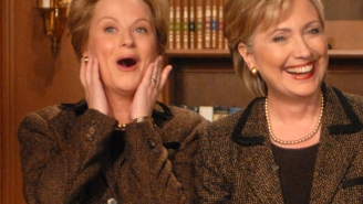 Hillary Clinton Asks Amy Poehler How Leslie Knope Would Do As President