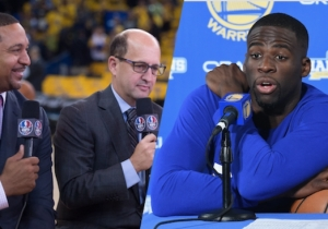 Mark Jackson And Jeff Van Gundy Thought Draymond Green Should Have Gotten Suspended