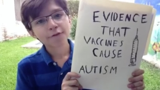 Watch This Kid Drop The Mic On The Theory That Vaccines Cause Autism