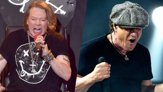 Axl Rose Feels The Pressure To Do 'Justice' To AC/DC And Brian Johnson