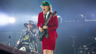 Axl Rose's First Official Concert Fronting AC/DC Rocks Fans in Lisbon