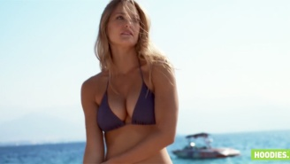 Another Suggestive Bar Refaeli Ad Was Banned For Very Obvious Reasons