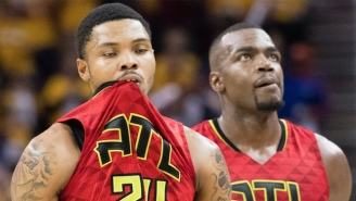 The Hawks Are Pretty Dang Upset About All Those Threes The Cavs Hit