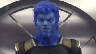 See the cast of 'X-Men: Apocalypse' like never before; in the club, going 'Beast Mode'