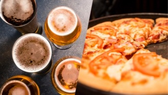 Pizza Hut Is Upping Their Game With Beer-Infused Crust