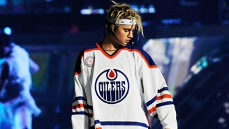 Justin Bieber Has A Tiny Face Tattoo Now