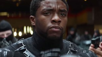 Black Panther unmasks himself in latest 'Captain America: Civil War' TV spot