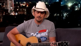 Brad Paisley Lampoons North Carolina With 'Sit By Your Man' Bathroom Song