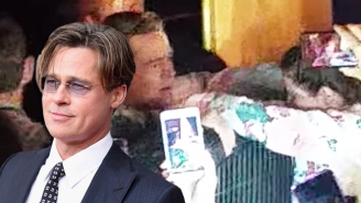 Brad Pitt Saves A Young Fan From Being Crushed By A Crowd