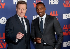 Anthony Mackie wants in on Bryan Cranston's Philip K. Dick TV series