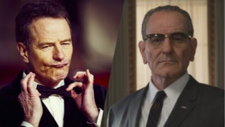 Bryan Cranston Morphs Into Lyndon B. Johnson In This Awesome Time-Lapse Video