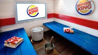 Like To Relax With Your Fast Food? Visit The New Burger King Spa