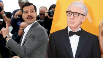 Meet The French Comedian Who Told A Rape Joke To Woody Allen's Face At Cannes