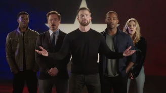 Sebastian Stan is the best part of this musical 'Captain America: Civil War' promo