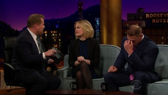 John Cena Gets His Feelings Hurt By Anna Paquin And Kevin Hart On 'The Late Late Show'