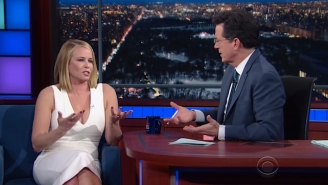 Chelsea Handler Finds The Current Late Night Host Crop 'Not Interesting,' Cites Stephen Colbert As An Example