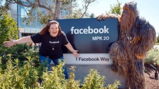 Chewbacca Mom Got Invited To Facebook For A Wookie Playdate And Had An Amazing Time