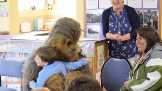 School Kids In Ireland Were Treated To A Surprise Chewbacca Appearance