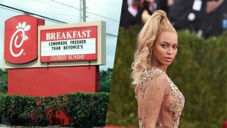 The BeyHive Is Swarming Chick-fil-A For Boldly Declaring Their Lemonade 'Fresher Than Beyonce's'