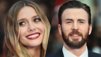 Chris Evans Scared The Hell Out Of 'Civil War' Co-Star Elizabeth Olsen On 'Ellen'