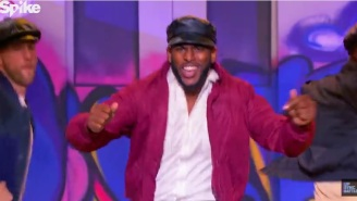 Watch Chris Paul Perform New Edition's 'Candy Girl' On 'Lip Sync Battle'