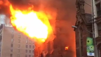 A Manhattan Cathedral Goes Up In Flames Hours After Greek Easter Service
