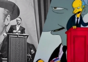This 'Simpsons' Homage Supercut Celebrates The 75th Anniversary Of 'Citizen Kane'