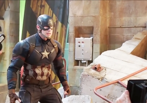 'Captain America: Civil War' Behind The Scenes Footage Shows A World Before CGI