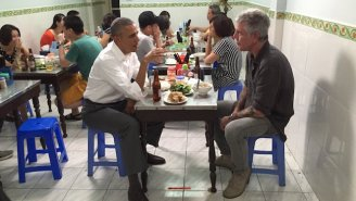 Anthony Bourdain Treated President Obama To A $6 Dinner In Vietnam