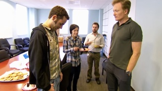 Conan Sets A Trap To Bust His Employees Sneakily Eating Cake Without Him