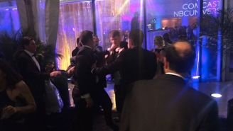 These Fox News And Huffington Post Reporters Got Into A Fight After The White House Correspondents' Dinner