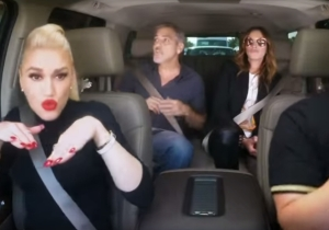 James Corden's newest Carpool Karaoke features Gwen Stefani and two movie stars