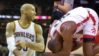 LeBron James Will Pay All of Dahntay Jones' Paltry Fine For Hitting Bismack Biyombo In The Groin