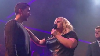 David Schwimmer And Rebel Wilson Face Off In A 'Drop The Mic' Rap Battle