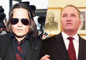 Johnny Depp's Bad Week Gets Worse When An Australian Official Makes A Hannibal Lecter Joke