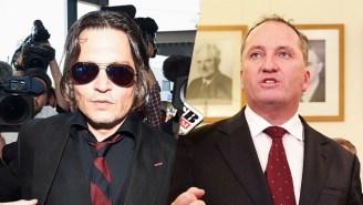 Johnny Depp's Bad Week Gets Worse When An Australian Official Makes A Hannibal Lecter Joke